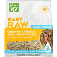 Only Natural Pet EasyRaw Chicken & Oats Raw Dehydrated Dog Food, 7-lb bag