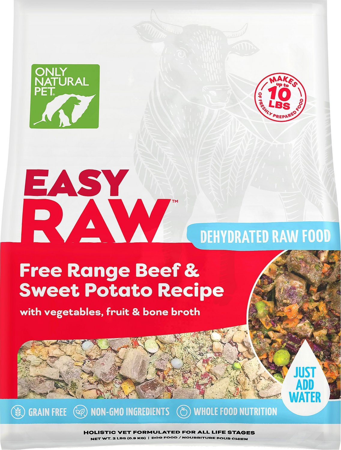 Only Natural Pet EasyRaw Beef \u0026 Sweet
