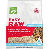 Only Natural Pet EasyRaw Beef & Sweet Potato Raw Grain-Free Dehydrated Dog Food, 2-lb bag