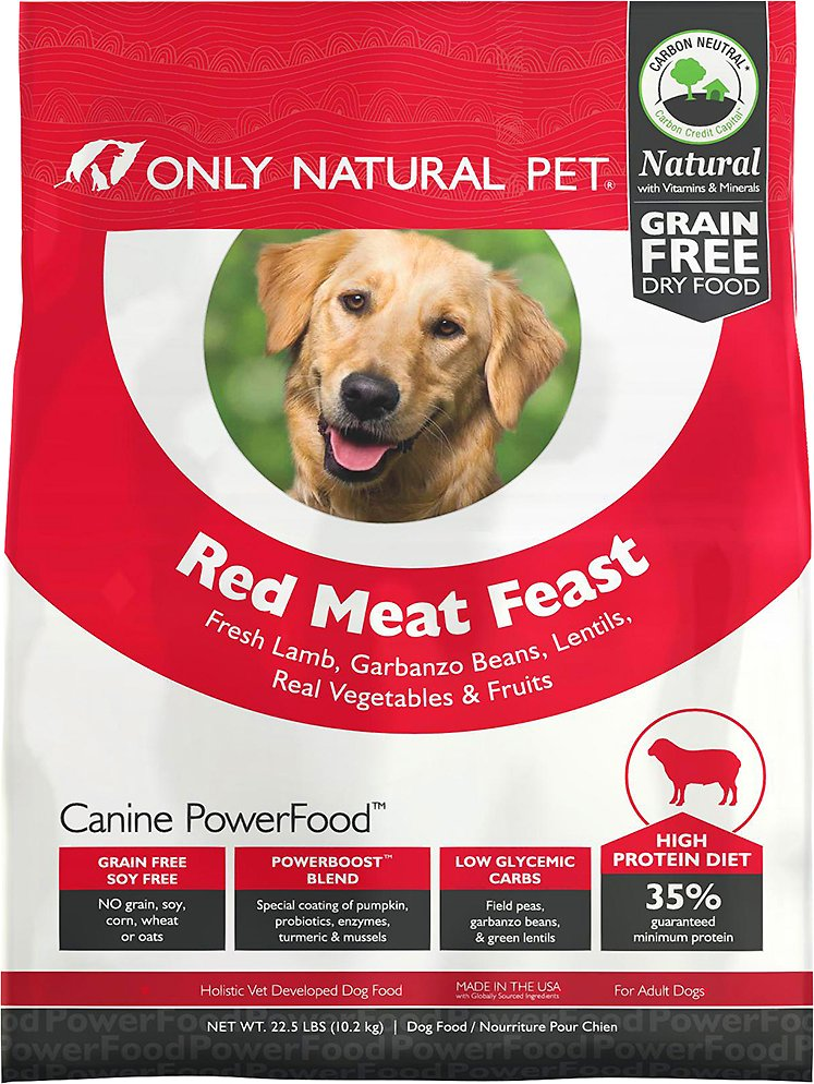 Only Natural Pet Canine Powerfood Red Meat Feast Grain Free Dry Dog