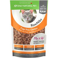 Only Natural Pet RawNibs Chicken Grain-Free Freeze-Dried Cat Food, 8-oz bag