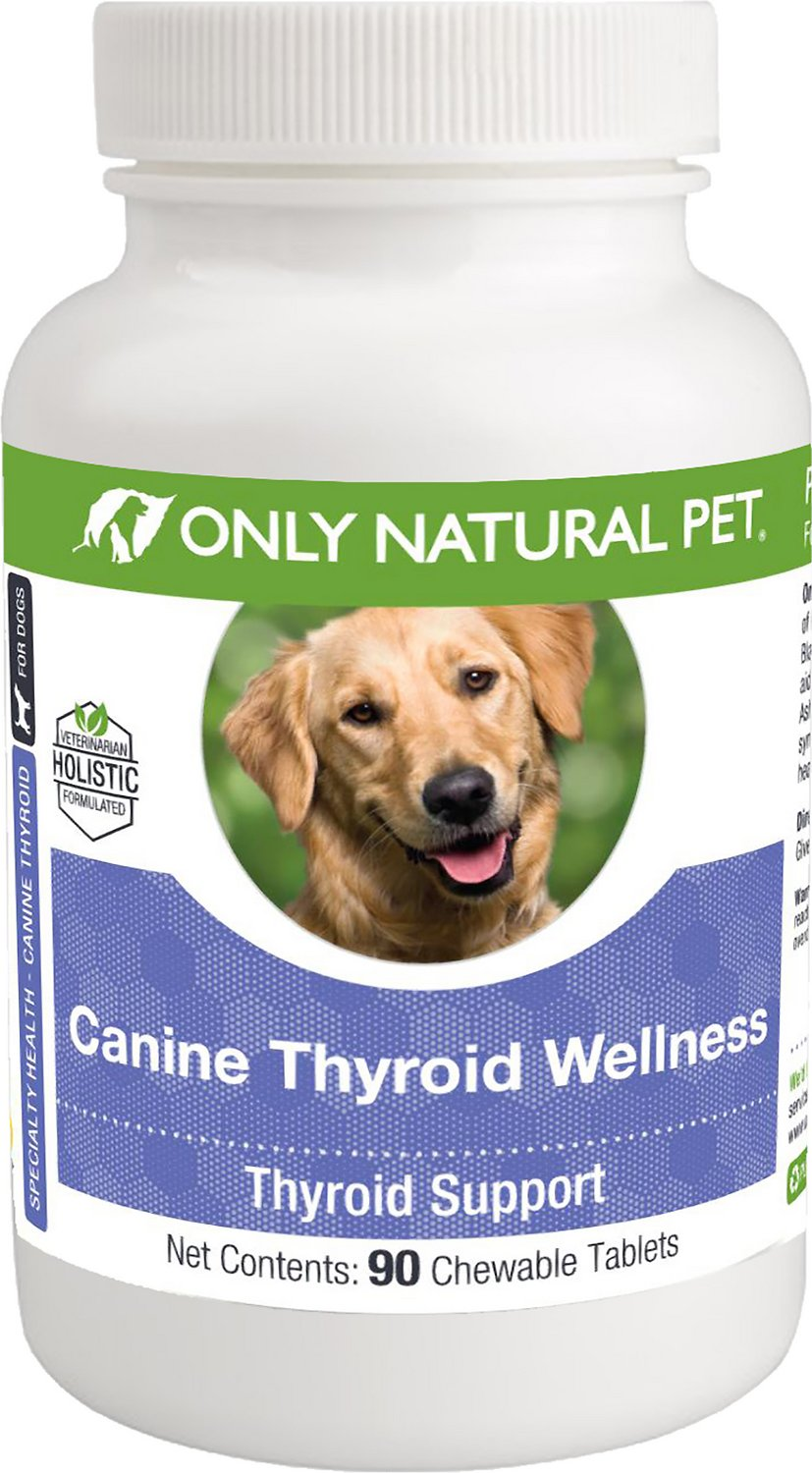 Only Natural Pet Canine Thyroid Wellness Chewable Tablets Dog