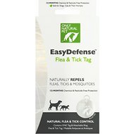 Only Natural Pet EasyDefense Flea, Tick & Mosquito Dog & Cat Collar Tag, 1 count