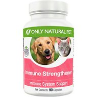 Only Natural Pet Immune Strengthener Capsules Dog & Cat Supplement, 90 count
