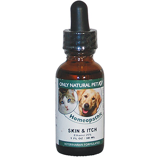 Only Natural Pet Skin & Itch Homeopathic Dog & Cat Supplement, 1-oz bottle