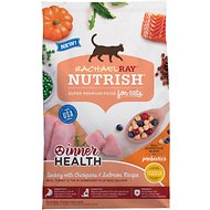 Rachael Ray Nutrish Inner Health Turkey with Chickpeas & Salmon Recipe Dry Cat Food, 3-lb bag