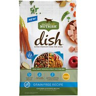 Rachael Ray Nutrish Dish Natural Grain-Free Chicken & Potato Recipe with Veggies & Fruit Dry Dog Food, 22.5-lb bag