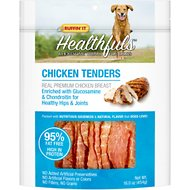 Ruffin' It Healthfuls Chicken Tenders With Glucosamine & Chondroitin Dog Treats, 16-oz bag