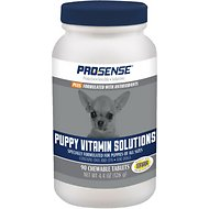 Pro-Sense Plus Puppy Vitamin Solutions Chewable Tablets, 90 count