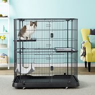 Prevue Pet Products Deluxe Cat Home, Black