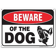 "Sigo Signs ""Beware Of Dog"" Aluminum Sign"