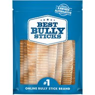 "Best Bully Sticks 12"" Beef Trachea Dog Treat, 12 count"