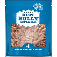 "Best Bully Sticks 6"" Braided Pork Pizzle Dog Treat"