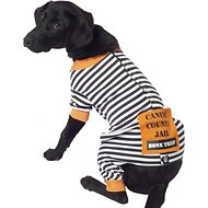 PetRageous Designs Bone Thief Striped Dog Pajamas, Large