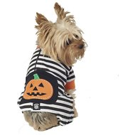 PetRageous Designs Pumpkin Patch Striped Dog Pajamas, X-Small
