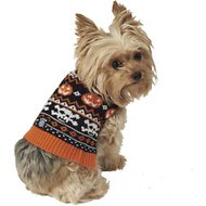 PetRageous Designs Halloween Fair Isle Dog & Cat Sweater, X-Small