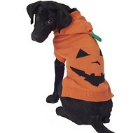 PetRageous Designs Jack O' Lantern Dog & Cat Hoodie, Large