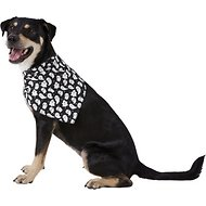 Pup Crew Ghost Dog & Cat Bandana, Medium/Large