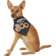 "SimplyWag ""Mommy's Little Boo"" Dog & Cat Bandana, X-Small/Small"
