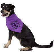 "Pup Crew ""Witches Be Trippin"" Dog & Cat Bandana, Medium/Large"