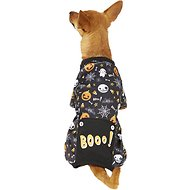 "Pup Crew Halloween ""Boo!"" Dog Pajamas, Medium"