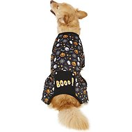 "Pup Crew Halloween ""Boo!"" Dog Pajamas, X-Large"