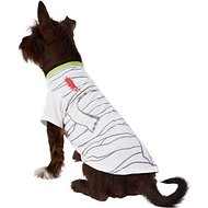 Pup Crew Mummy Dog & Cat T-Shirt Costume, Large