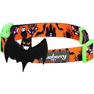 Blueberry Pet Halloween Mystery Disguise Dog Collar, Medium