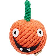 Jax and Bones Gourdy the Pumpkin Rope Dog Toy