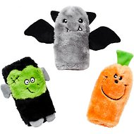 ZippyPaws Halloween Buddies 3-Pack Squeaker Dog Toy