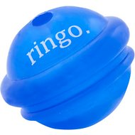 Planet Dog Orbee-Tuff Ringo with Treat Spot Dog Toy, Royal Blue