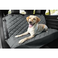 Frisco Quilted Water Resistant Bench Car Seat Cover, Regular, Gray