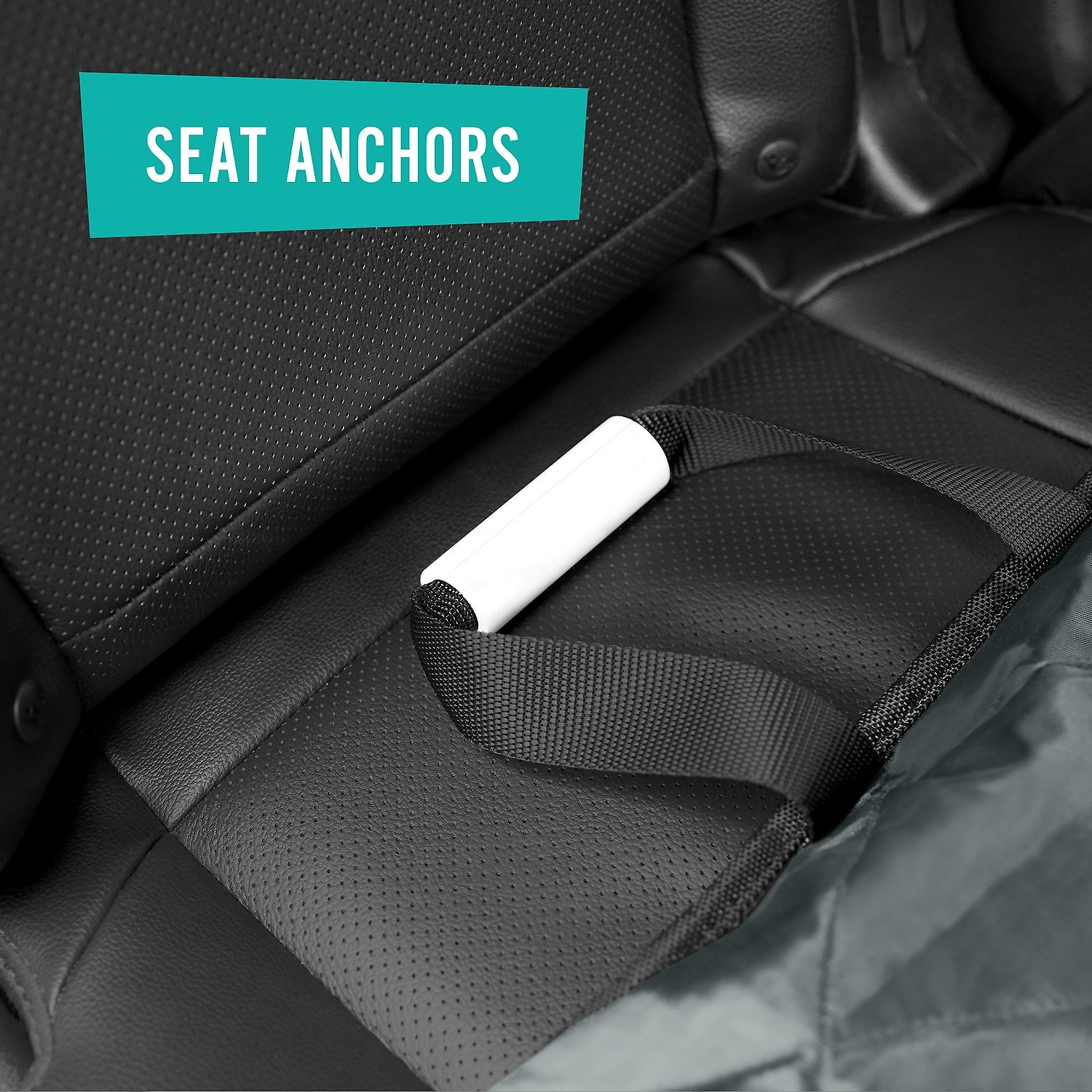 Frisco Quilted Water Resistant Bench Car Seat Cover Regular Gray