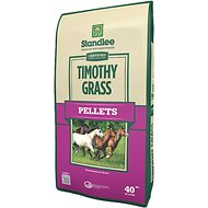 Standlee Certified Timothy Grass Pellets Horse Forage, 40-lb bag