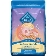 Blue Buffalo Indoor Health Chicken & Brown Rice Recipe Adult Dry Cat Food, 10-lb bag