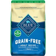 Blue Buffalo Life Protection Formula Adult Chicken Recipe Grain-Free Dry Dog Food, 10-lb bag