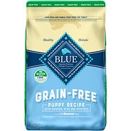 Blue Buffalo Life Protection Formula Puppy Chicken Recipe Grain-Free Dry Dog Food, 10-lb bag