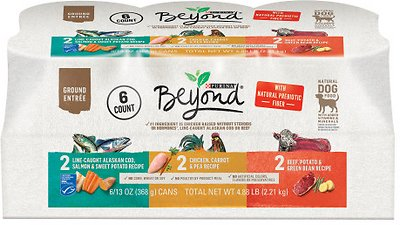 Purina Beyond Grain-Free Ground Entree Variety Pack Adult Wet Dog Food