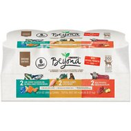Purina Beyond Grain-Free Ground Entree Variety Pack Adult Canned Dog Food, 13-oz, case of 6