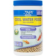 API Pond Cool Water Koi & Goldfish Food, 11-oz bottle