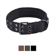 OneTigris Military Dog Collar, Black, Large