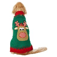 Frisco Dog & Cat Holiday Reindeer Sweater, XX-Large