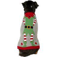 Frisco Dog & Cat Holiday Elf Sweater, X-Large