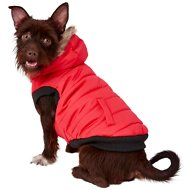 Frisco Dog & Cat Parka Coat, Red, Medium