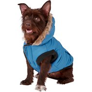 Frisco Dog & Cat Parka Coat, Blue, Medium