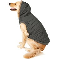 Frisco Dog & Cat Parka Coat, Black, XX-Large
