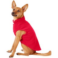 Frisco Dog & Cat Fleece Vest, Red, Small