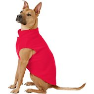 Frisco Dog & Cat Fleece Vest, Red, X-Large