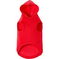 Frisco Dog & Cat Basic Hoodie, Red, X-Small