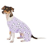 Frisco Panda Print Dog & Cat Lightweight Jersey PJs, Small